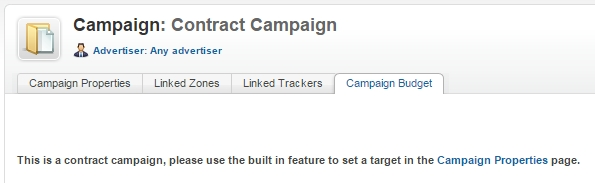BudgetiX on a Contract campaign